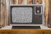 old-tv-wood-static